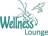 GRAZDesign 650064_30_054 Wandtattoo Wellness Lounge | Badezimmer-Wände mit Aufkleber gestalten | WC/Toilette (41x30cm // 054 türkis)