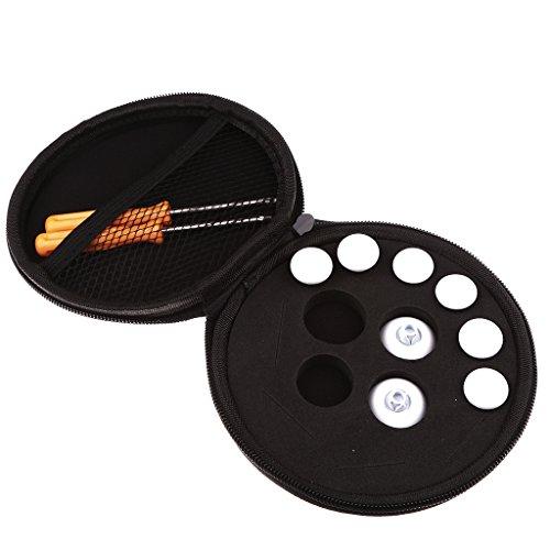 Preisvergleich Produktbild Gazechimp Ersatz Trigger Tasten Knöpfe mit Aufbewahrung Tasche für Xbox One Elite/ PS4 - Weiß