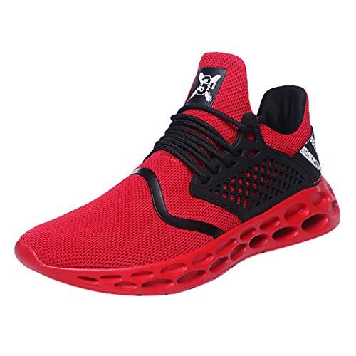 Darringls Zapatillas Deporte Hombre Zapatos para Correr Athletic Cordones Air Cushion Running...