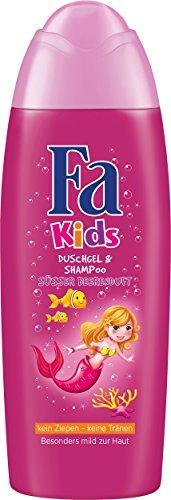 Fa Kids Duschgel & Shampoo Meerjungfrau, 6er Pack (6 x 250 ml)