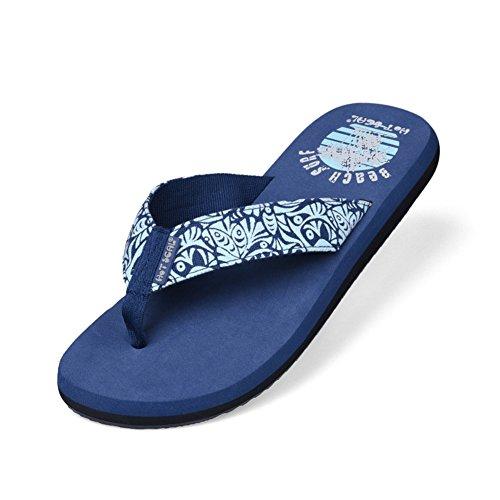 Tongs estivales en plein air/Livraison gratuite Chaussures homme chaussures antidérapantes/Pantoufles fluorescents A