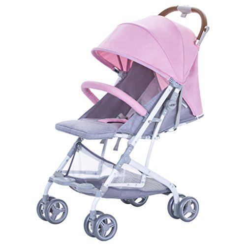 Peixia Department Store Kinderwagen High Landscape Kinderwagen Klapp-Kinderwagen Geeignet für 0-36 Monate Baby Buggy Stroller Babywagen (Farbe : 3#)