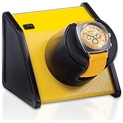 Orbita Sparta 1 Single Watch Winder - Vibrant Yellow