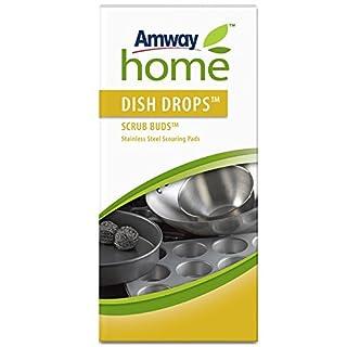 DISH DROPS™ SCRUB BUDS™ Topf- und Geschirrreiniger aus Edelstahl - 1 Paket mit jeweils 4 Stück - Gesamt: 4 Stück - Amway - (Art.-Nr.: 110490)