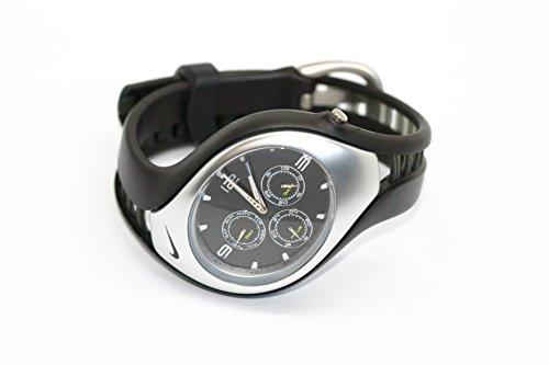 Nike Triax Swift Sport 3i analoge Uhr SCHWARZ 088 (Nike Männer Für Sport-uhren)