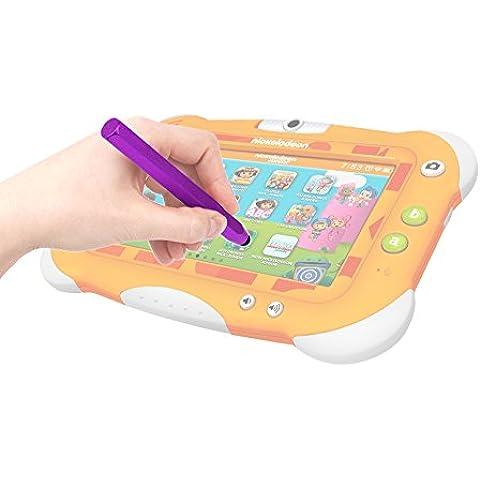 DURAGADGET Lápiz Stylus Morado Para Pantalla Táctil De Tablet Videojet Nickelodeon