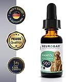 Neurogan´s Hanföl für Hunde, Katzen und andere Haustiere / 500MG auf 30ml / einfache Einnahme - bei Unruhe, Angstattacken & Gelenkproblemen/Nahrungsergänzung