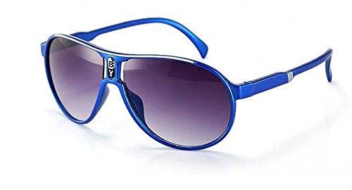 Whycat brillenfassungen damen retro Sonnenbrille für Kinder UV-Schutz, Kinder Sonnenbrille UV, Baby Sonnenbrille Alter 3-12(Blau)