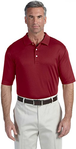 Devon & Jones DG200 Herren Pima-Tech Polo Burgunderrot