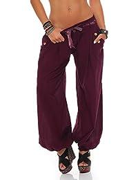 ZARMEXX Señoras bloomers el harem pantalones del verano de los pantalones de harén pantalones de algodón