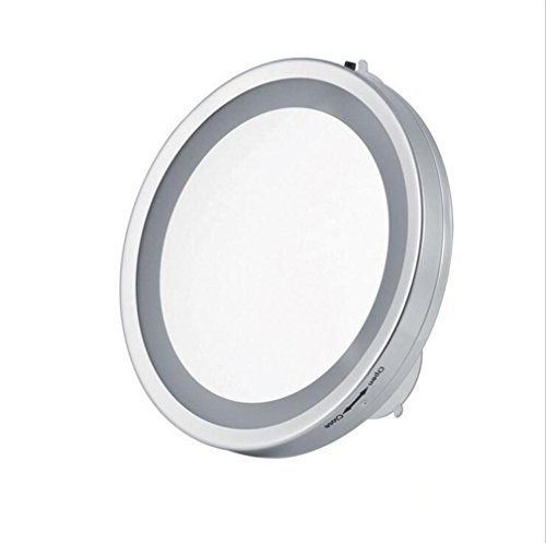 Make-up-Spiegel mit 3X-Vergrößerung Wand hängende Spiegel Bad Zimmer Chuck Spiegel 6 Zoll ()