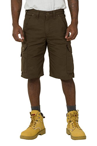 Carhartt Ripstop Work Shorts - Dark Coffee Men's Rugged Workwear CS.B357.DFE