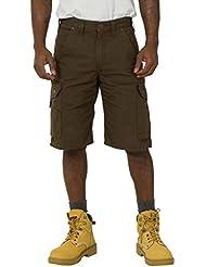 Carhartt Ripstop cortos de carga - Dark Coffee Hombres Ropa de trabajo resistente CS.B357.DFE