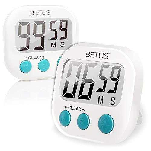 Betus - Temporizador digital de cocina 2 unidades