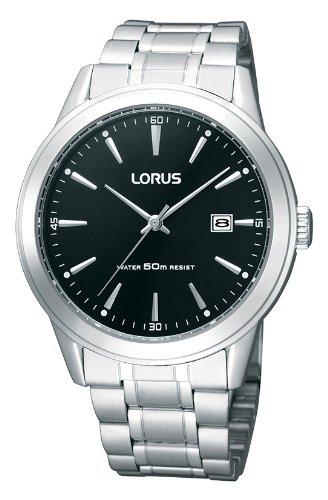 Lorus Herren-Armbanduhr Analog Edelstahl RH995BX9