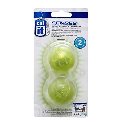 Catit Senses Spare Illuminated Balls for Speed Circuit, Pack of 2