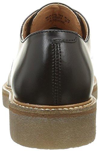 Kickers Oxfork, Chaussures Lacées Femme Noir (Noir)