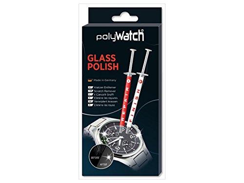 PolyWatch Glass Polish   Glaspolitur Kratzer   Kratzer Entferner Uhr   Glas Kratzer Entferner