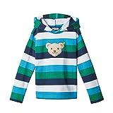 Steiff Jungen Sweatshirt, Grau (BLACK IRIS 3032),104 (Herstellergröße:104)