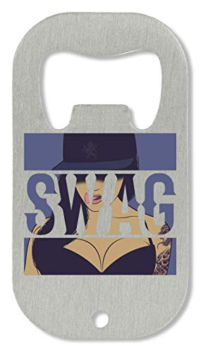 ShutUp Swag Beautiful Girl Snapback Swag Series Money Cool Phrases Flaschenöffner