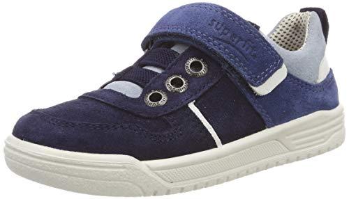 Superfit Jungen Earth Sneaker, Blau/Hellblau 80, 36 EU
