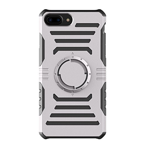 Multifunktions-Outdoor-Sport-Armband mit abnehmbarem PC + TPU Kombi-Etui für iPhone 7 Plus by diebelleu ( Color : Silver ) Grey