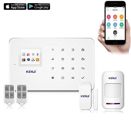 Alarme KERUI G18 sans fil et GSM