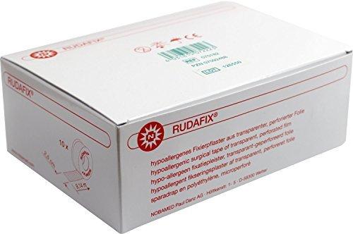 RUDAFIX Fixierpflaster im Schutzring2,5 cm x 9,14 m (10 Rl.)
