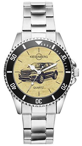 Geschenk für Hyundai Santa Fe Fahrer Fans Kiesenberg Uhr 20579