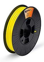 Basicfil PLA 2.85mm, 500 gr filament pour imprimate 3D, Jaune