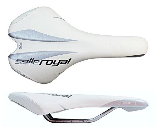 Selle Royal Seta weiß Fahrradsattel MTB Sattel Trekking Handmade Radsattel