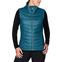 VAUDE chalecos rimbi Vest, otoño/invierno, mujer, color Turquesa - azul, tamaño 50 [DE 48]