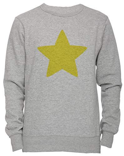 r Unisex Herren Damen Jumper Sweatshirt Pullover Grau Größe XL Men's Women's Jumper Grey X-Large Size XL ()