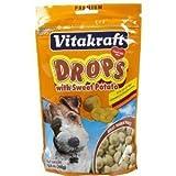 Sweet Potato Drops Dog Treat [Set of 2] by Vitakraft SunSeed, Inc.