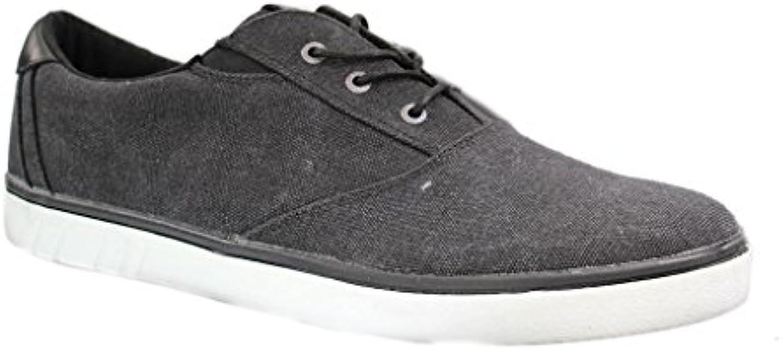 Boras Herren Halbschuhe   Schwarz Schuhe in übergrößen