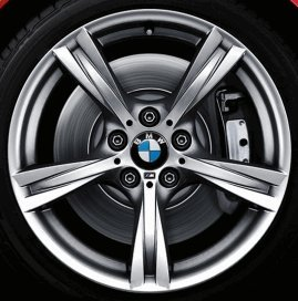 BMW originale cerchioni in alluminio Z4E89M Stella ha parlato 325in 18pollici per la parte posteriore