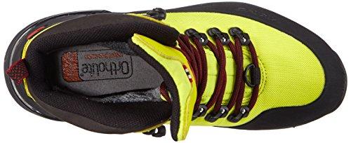 Viking Gaupe Textile Gtx, Chaussures de randonnée mixte adulte Jaune - Gelb (Lime/Black 8802)