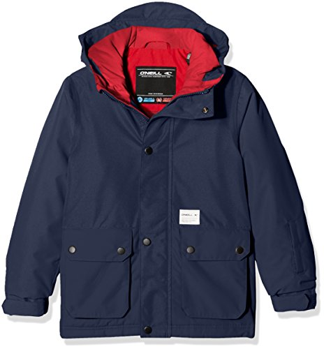 O' Neill PB Hawking Jacket giacca da sci, Ragazzo, PB HAWKING JACKET, Blu - Ink (Giacca Ragazzi Sistema)