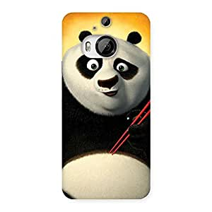 Special Kun Panda Multicolor Back Case Cover for HTC One M9 Plus