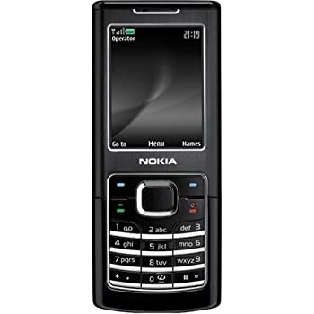 nokia 6500 sim free mobile phone black classic amazon. Black Bedroom Furniture Sets. Home Design Ideas