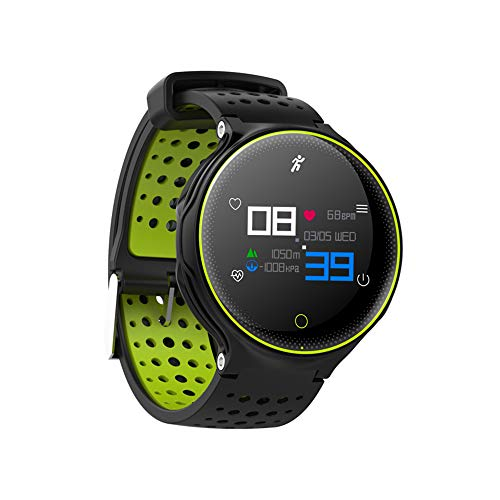 smart watch 2018 Fitness Tracker IP68 Impermeabile Orologio Fitness cardiofrequenzimetro/pedometro / Musica per Bambini per Uomini e Donne per Android e iOS