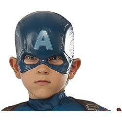 Avengers Máscara de Capitán América, para niños (Rubie's 36238)