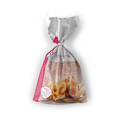 TOUPARGEL - Cakes briochés aux fruits confits - 4 x 80 g - Surgelé