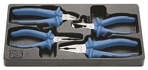 KS Tools 118.1004 Jeu de pinces Ergotorque plus 4 pinces