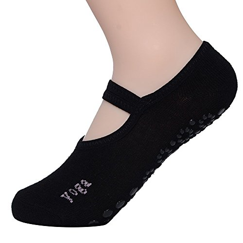 FunRun Non Slip Skid Women Pilates Yoga Socks Dance Mat Massage Socks...