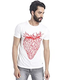 Flat 60% Off On : Jack & Jones Casual Printed T-Shirts For Men's low price image 3