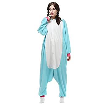 Kigurumi Pyjama Adulte Anime Cosplay Halloween Costume Tenue Bleu Pégase XL