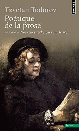Poétique de la prose (choix)