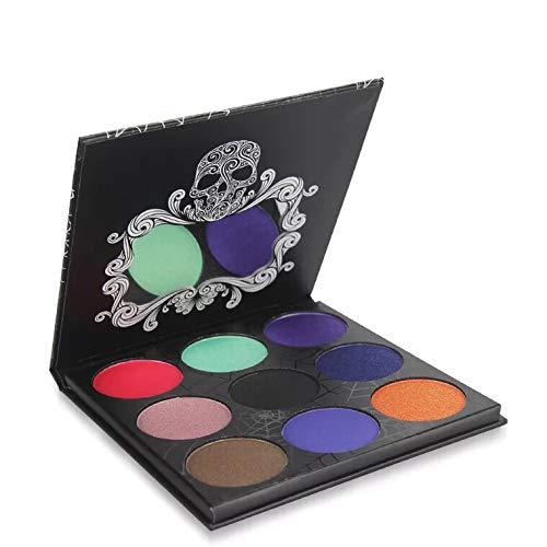 Ombre À Paupières Palette 9 Couleurs Fard À Paupières Poudre Maquillage Imperméable À L'eau Ombre Palette Cosmétiques par