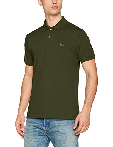 Lacoste L1212, Polo Homme, Vert (Bocage), Small